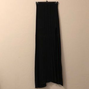 Brandy Melville maxi skirt with slit